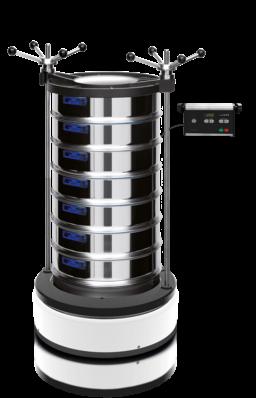 Vibratory Sieve Shaker AS 450 basic